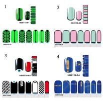 HO5118 - Nail Sticker Kuku Decals Fashion