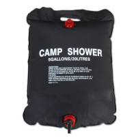 Wenzel Solar Shower Bag 20 Litres / Tas Air - Black
