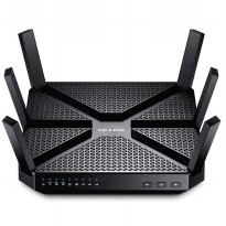 TP-LINK AC3200 Wireless Tri-Band Gigabit Router - Archer C3200 - Black
