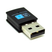 Kextech Mini USB Wireless Adapter 300Mbps - RTL8192 - Black