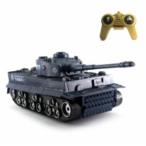 Mainan Remote Control Tank Blue Tiger Navy Edition