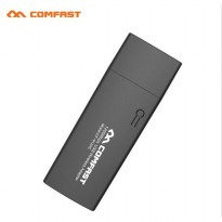 Comfast Wireless Receiver USB 3.0 Dual Band 802.11ac 1200Mbps - CF-912AC - Black