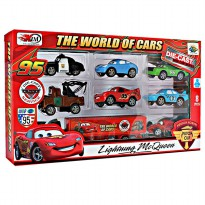 MAINAN ANAK COWOK KOLEKSI DIE CAST MOBIL VEHICLE DIECAST THE WORLD OF CARS