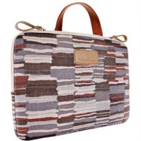 [holiczone] Kinmac Galaxy Pattern Gery Color Laptop Sleeve 14 Inch with Handle for 14.0 In/1612910