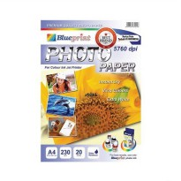 BLUEPRINT Photo Paper Glossy 230gsm A4 [BP-GPA4230]