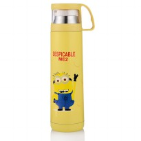 Botol Thermos Kartun Stainless Steel 350ML - Yellow