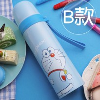 Botol Thermos Lucu Stainless Steel 500ML - Blue