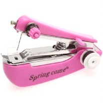 Mini Manual Sewing Household Machines / Mesin Jahit Portable - Pink