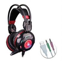 Headset Gaming Bloody G300 Combat (Black+Red)