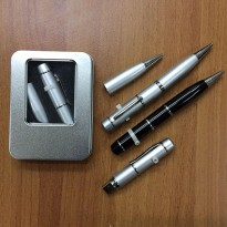 Pulpen Multifungsi 3 In 1 (Pen + Flashdisk 8Gb + Laser Pointer)