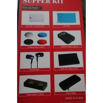 (Promo Hari Ini) Nintendo Switch 13 in 1 OTVO Complete Starter Kit / Supper Kit (Black)