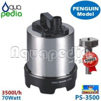 READY AQUILA PS-3500 Pompa Celup Stainless Steel Vertical Model Penguin