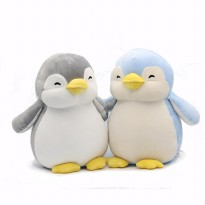 MINISO 8 inch sitting Penguin super soft doll cloth doll pillow