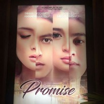Buku Novel promise this is not only about love by Dwitasari & Tisa TS