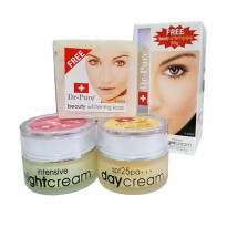 Dr Pure Paket Cream Whitening Original BPOM + Sabun Whithening - 1 Paket