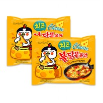 SAMYANG - Cheese HOT BULDAK RAMEN 1 PACK Isi 5pcs [HALAL] (SAMYANG OFFICIAL)