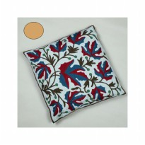HF1172 - Sarung Bantal Daun Maple ( Cream )