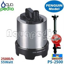 [Terbatas] AQUILA PS-2500 Pompa Celup Stainless Steel Vertical Model Penguin