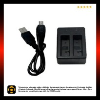 Dual Charger for Action Camera SJCam SJ4000/SJ5000/SJ5000/Brica B-Pro 5AE ( OEM )