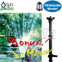 (Star Product) AQUILA PS-6000 Pompa Celup Stainless Steel Vertical Model Penguin
