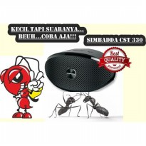 Simbadda Music Player CST 330N - Hitam