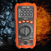 LOMVUM Pocket Size Digital Multimeter - DM616 - Black/Orange