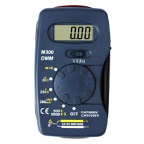 Pocket-Size Digital Multimeter - M300 - Black