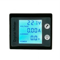 PZEM-011 4IN1 AC Voltmeter Current Power Monitor Alarm 80-260V 10A - Black