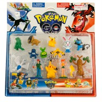 Mainan Pokemon Go Plus 13 Pcs 3+ - Mainan Koleksi Pokemon 22-25