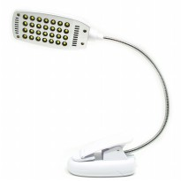 Lampu Klip USB 28 LED - YHX-181 - White