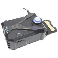 Universal Laptop Super Vacuum Cooler - Black