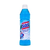 SOS Magic Pine Pembersih Lantai 800 mL x 3 pcs
