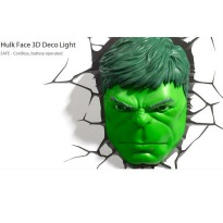 [Recommended] 3D Deco Light Hulk Head Original License Marvel