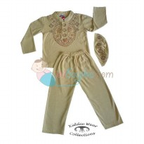 Kiddie Wear Moslem Absyar Size 2 Color Brown For Boys Age 7M - 11M