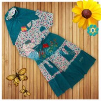 Kiddie Wear Moslem Zhahira Size 2 Color Tosca For Girls Age 5YR - 6YR