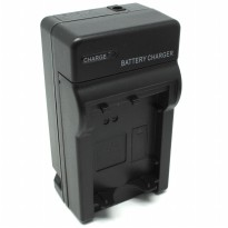Camera Travel Charger for Sony DSLR with Car Charger - NP-FW50 - Black