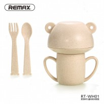 REMAX RT-WH01 Children Cup Set - Set Cangkir Mangkok Makan Bayi