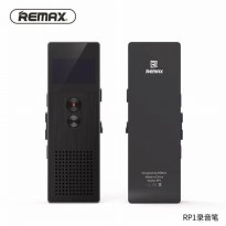 REMAX RP1 Voice Recorder Perekam Suara Digital Meeting - Hitam