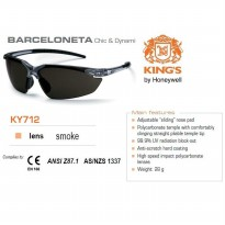 Kacamata Safety KING'S KY 712 Smoke Lens ORI