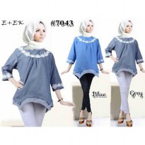 [POP UP AIA] Blouse Denim Sarah