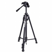 Weifeng Portable Lightweight Tripod Video And Camera - WT-3520 - Black