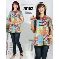 [POP UP AIA] Simple Blouse Batik 70162