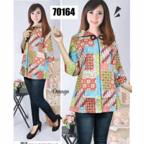 [POP UP AIA] Simple Blouse Batik 70164