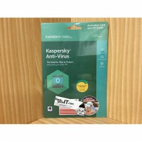 Software Anti Virus Kaspersky For 1 PCs/Kaspersky Anti-Virus For 1 PCs