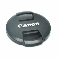 Cover Tutup Lensa Kamera Canon 67mm - Black