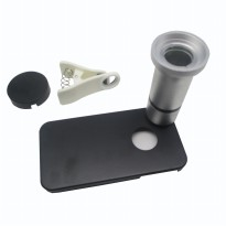 Flower And Insect Microscope Lens for iPhone 4 - A-UC-FL01 - Silver