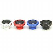 Lesung Lensa Fisheye Magnetic 180 Degree - LX-M001 - Red