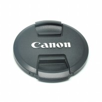 Cover Tutup Lensa Kamera Canon 72mm - Black