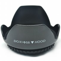 Lens Hood for Cameras 58mm (Screw Mount) - Black