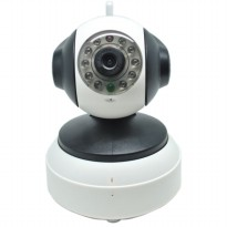 IP Camera with TF Card Slot 720P - IP1005W - White